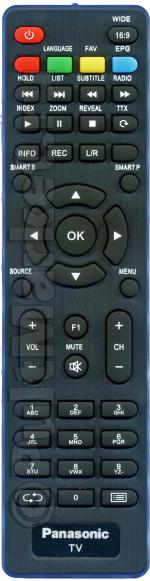 Пульт Panasonic TX-24DR300 (оригинал)