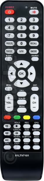 Пульт для Polar 81LTV7101 (вариант 1)