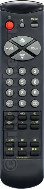 Пульт для Samsung 3F14-00038-091(092)
