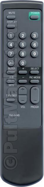 Пульт для Sony RM-849S