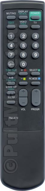 Пульт для Sony RM-870