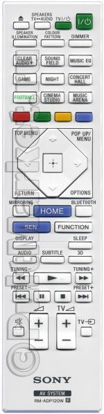 Пульт Sony RM-ADP120W (оригинал)