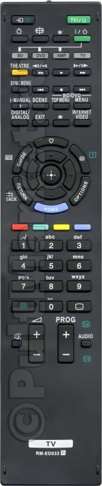Пульт для Sony RM-ED033