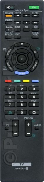 Пульт для Sony RM-ED034