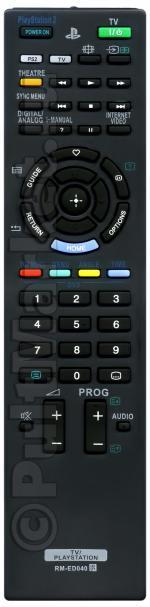 Пульт для Sony RM-ED040