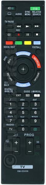 Пульт для Sony RM-ED058
