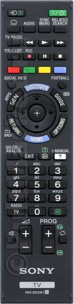Пульт Sony RM-ED061 (оригинал)