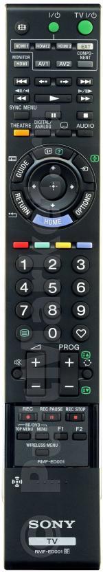 Пульт Sony RMF-ED001 (оригинал)