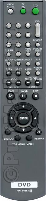 Пульт для Sony RMT-D165A