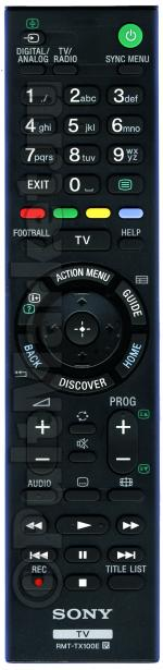 Пульт Sony RMT-TX100E (оригинал)
