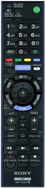 Пульт Sony RMT-TX101E (оригинал)