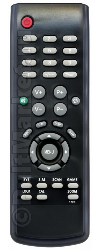 Купить пульт для телевизора supra HA12