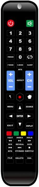Пульт для Telefunken 26A9-EDR0TELF