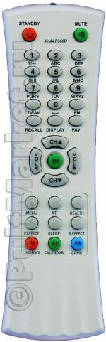 Пульт для Thomson R166D/R166E