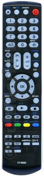 Пульт для Toshiba CT-8022