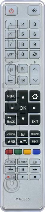 Пульт для Toshiba CT-8035