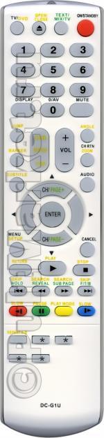 Пульт для Toshiba DC-G1U